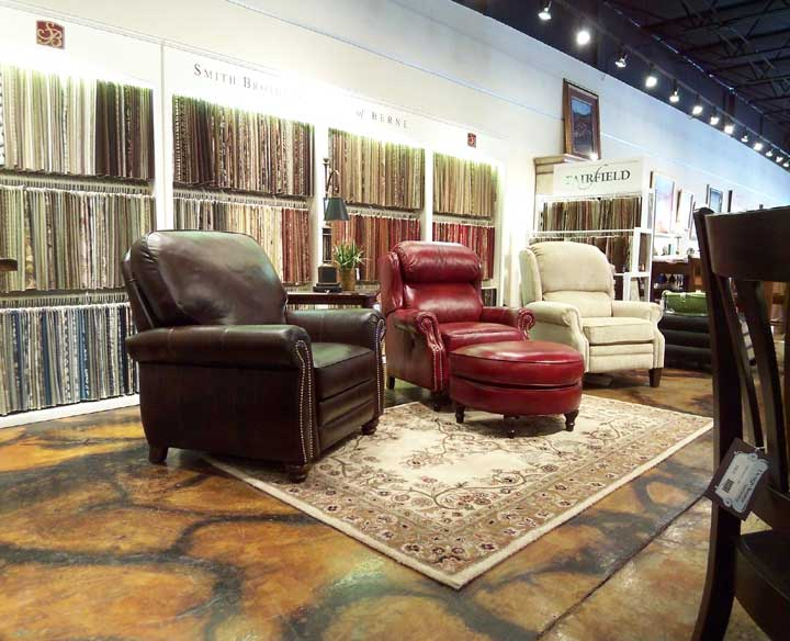 Exceptional Beautiful Furniture In Asheville, Photo Of Leather Chairs In Design Avenue  Home Furnishings Showroom,